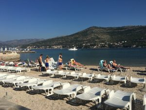 Photo by roseannadana: Back on my home turf, Copacabana beach Dubrovnik