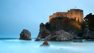 Photo by Eric Hossinger - Sulic beach, Lovrijenac fortress Dubrovnik