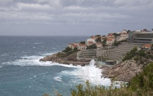 Photo by ahisgett, Dance beach, across Hotel Libertas, Dubrovnik