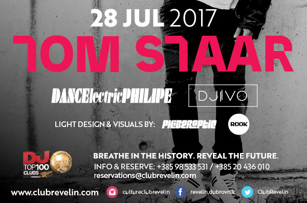 Tom Staar at Revelin, July 28th 2017