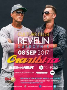 Crazibiza on September 8th, 2017 in Culture Club Revelin Dubrovnik