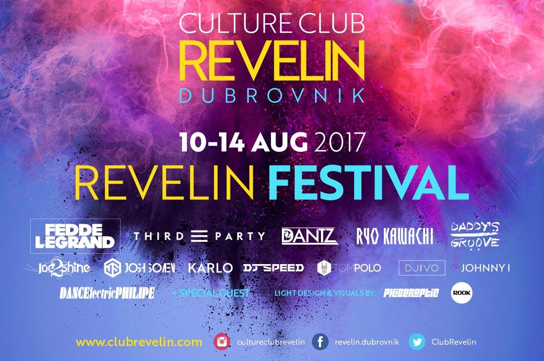 Revelin Festival 2017, opening night
