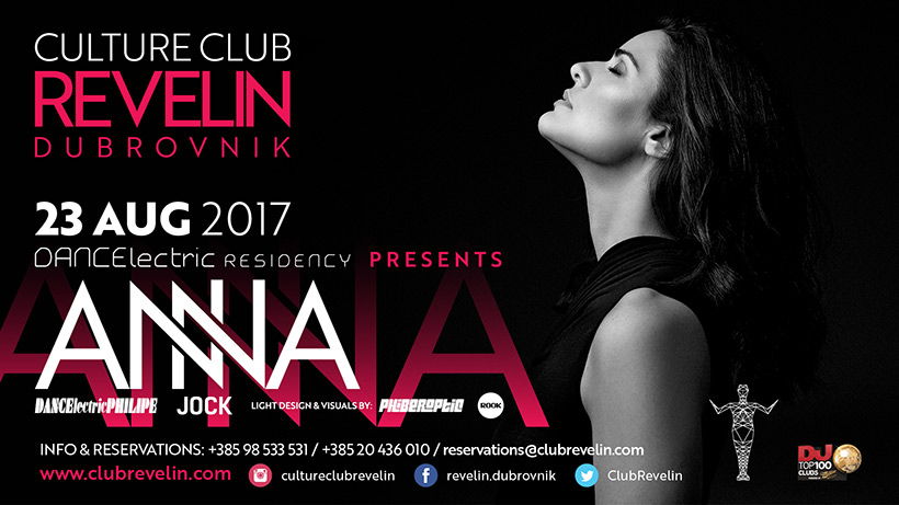 ANNA, NightClub Revelin, August 23rd, 2017