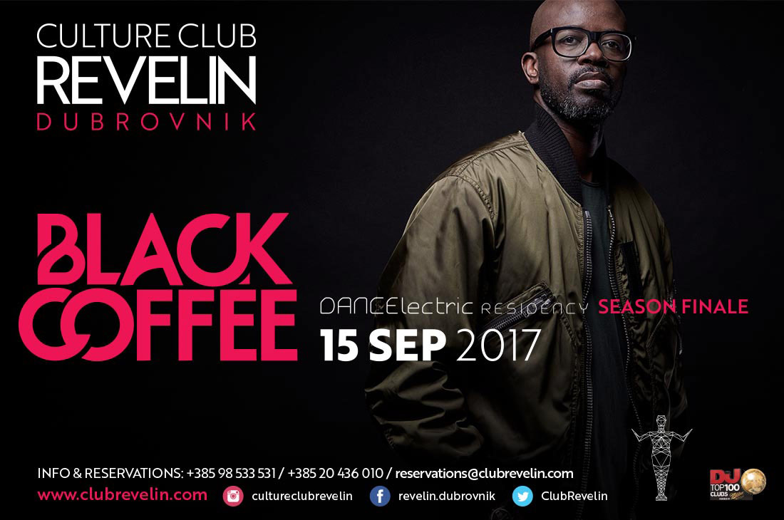 Black Coffee, Culture Club Revelin, September 15th 2017