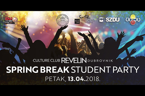 Spring break student party, Revelin, 13.04.2018