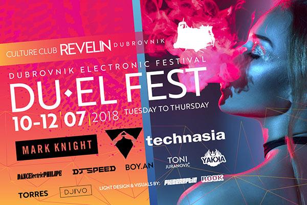 Du-EL Fest Revelin, 10-12.07.2018, Dubrovnilk