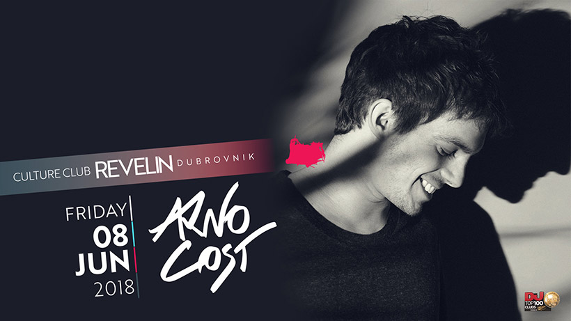 Famous French Producer and DJ, Arno Cost is coming to nightclub Revelin on 8th of June, 2018