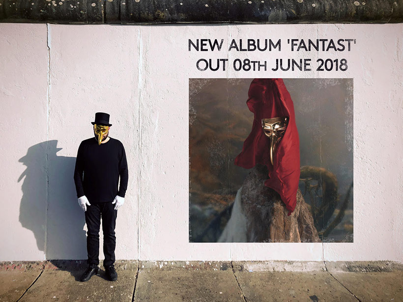 Claptone new album Fantast set to release on June 8th, 2018!