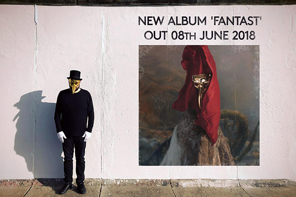 Claptone new album Fantast coming out June 8th 2018
