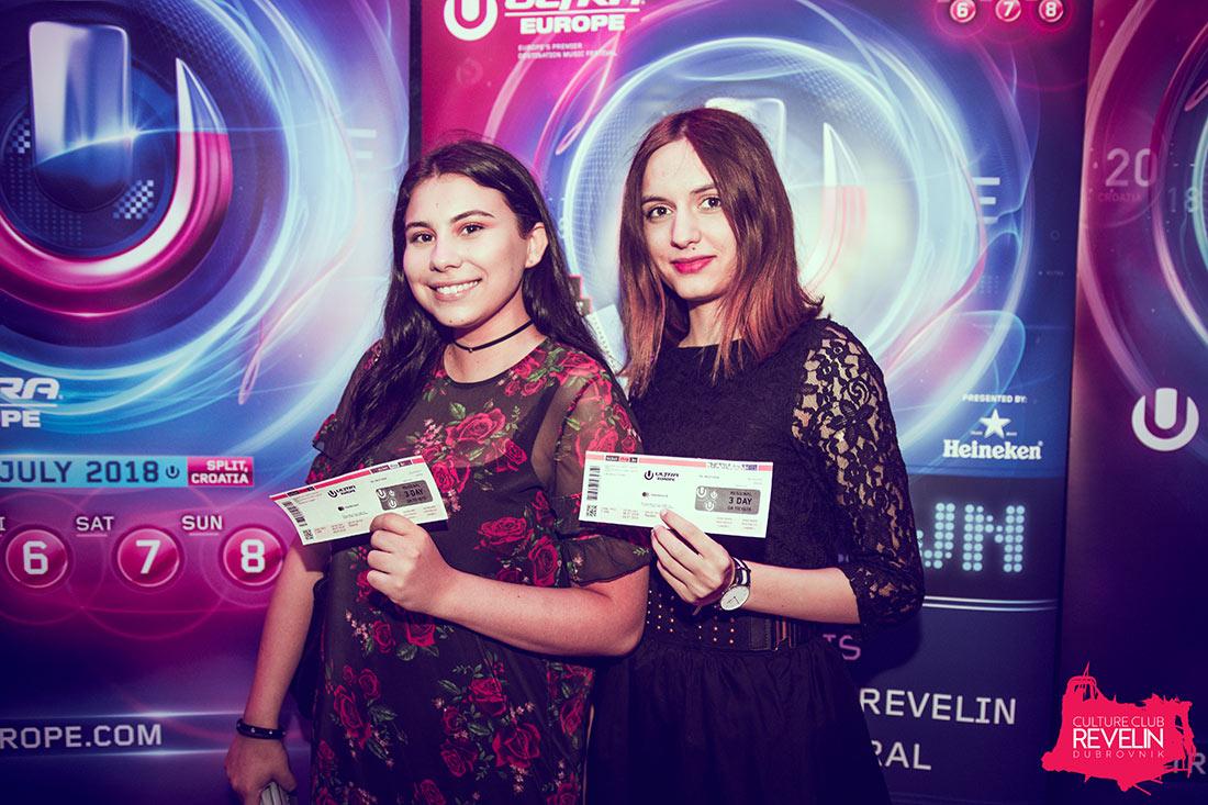 Ultra Europe 2018 lucky ticket winners!, Nightclub Revelin, Countdown to Ultra Europe, June 16th, 2018.