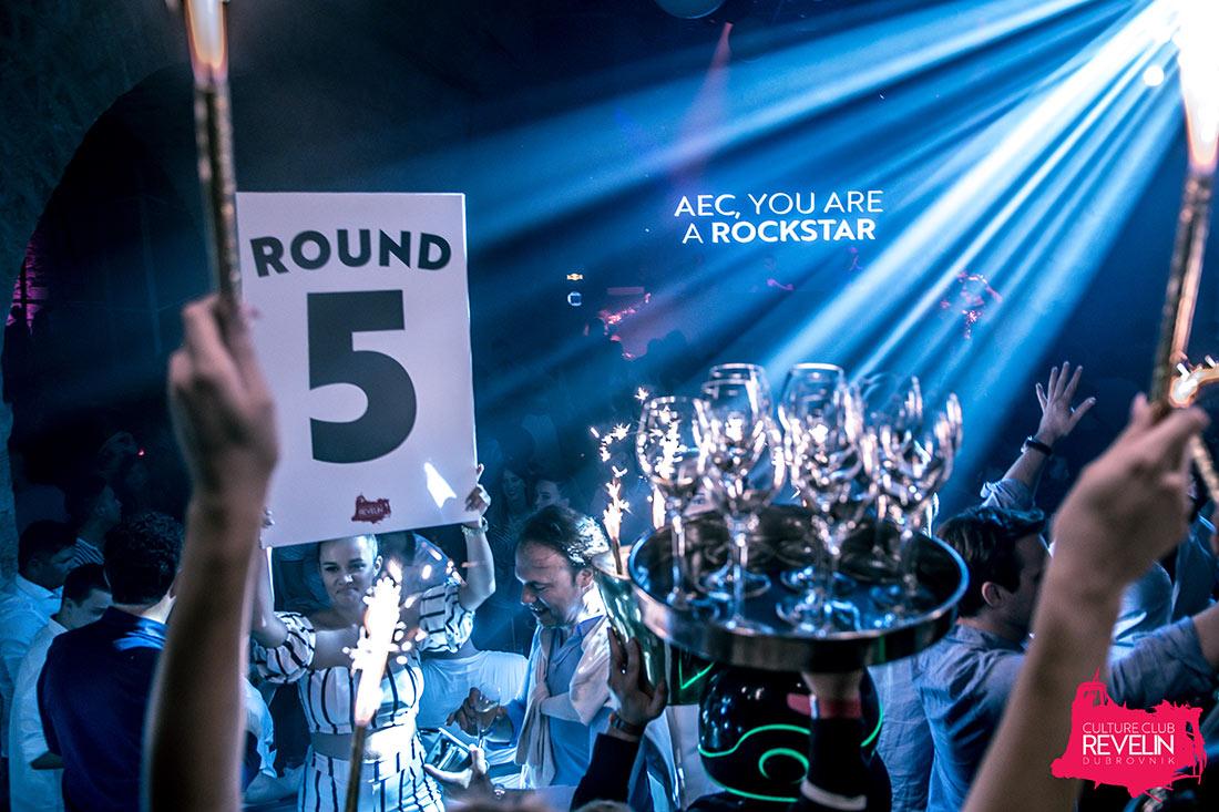 Round 5, Crazibiza, June 15th 2018, Dom Perignon, Revelin nightclub