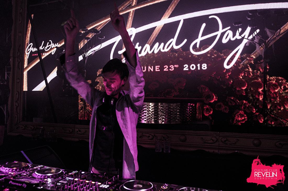 Danceelectric Philipe at Secret, Moet Grand Day, Revelin nightclub, June 23rd 2018