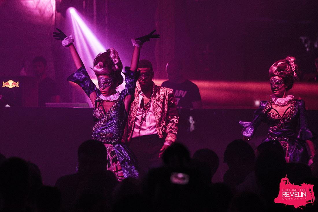 Secret performance on stage, Secret, Moet Grand Day, Revelin nightclub, June 23rd 2018