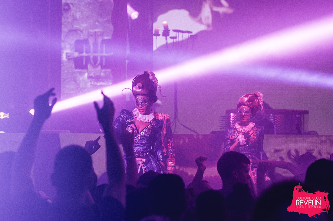 Secret show, Revelin nightclub, June 23rd 2018