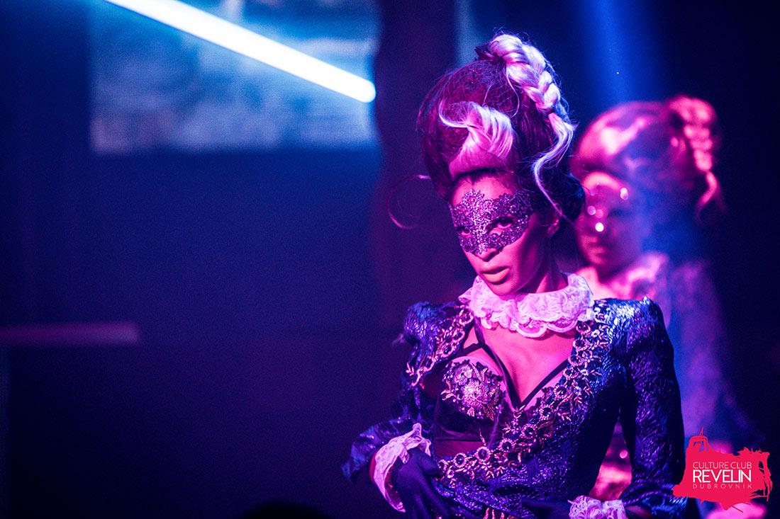 performer on Revelin stage, Secret, Moet Grand Day, Revelin nightclub, June 23rd 2018