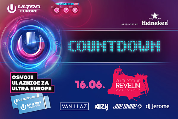 Countdown to Ultra Europe 2018