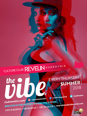 The Vibe, weekly show, Revelin, every Thursday