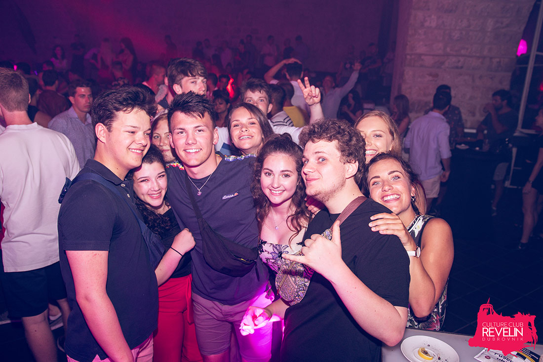 Guests enjoying at Why Not? club night by nightclub Revelin