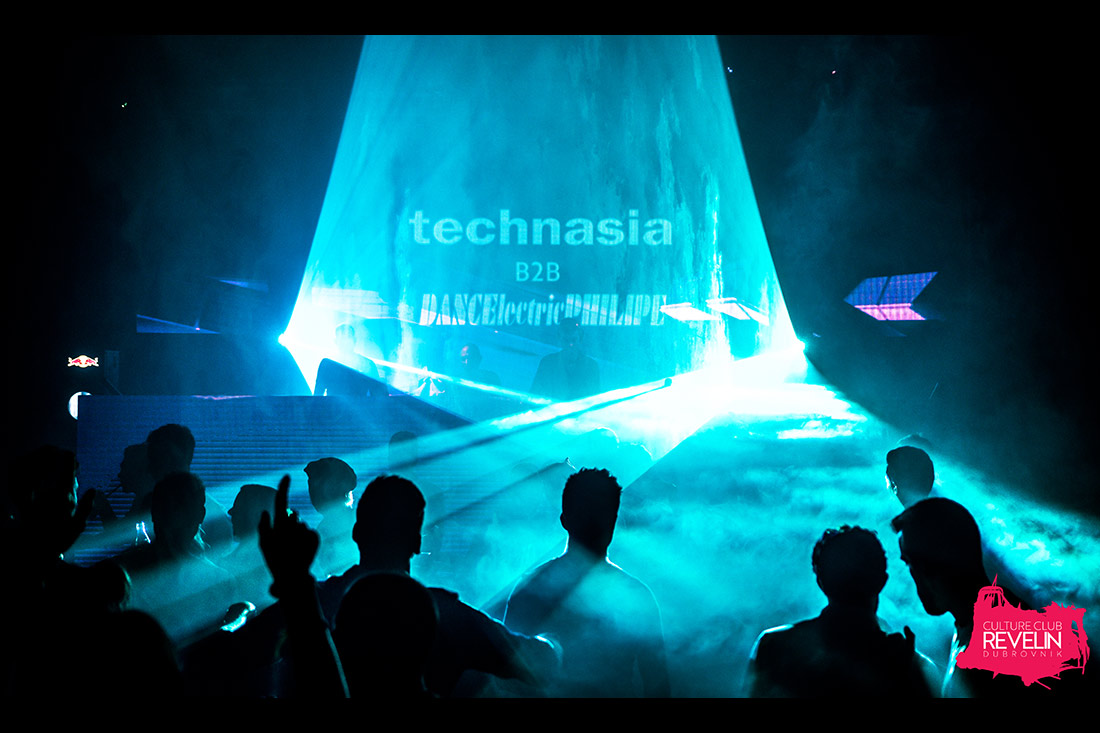 Great atmosphere at Technasia, lightshow