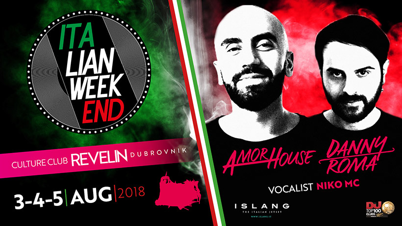 Italian Weekend from 3rd till 5th of August in Revelin Dubrovnik