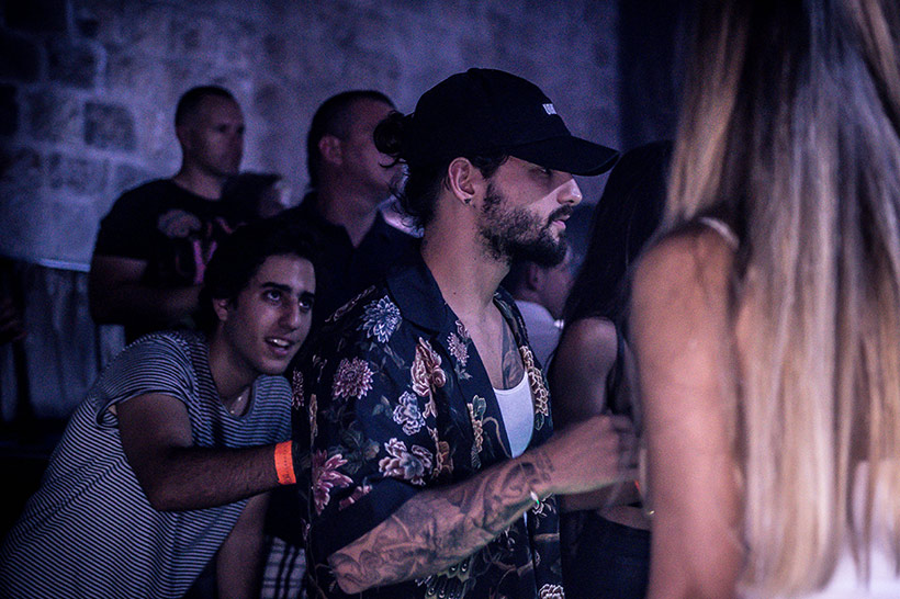 Maluma partying at Culture Club Revelin