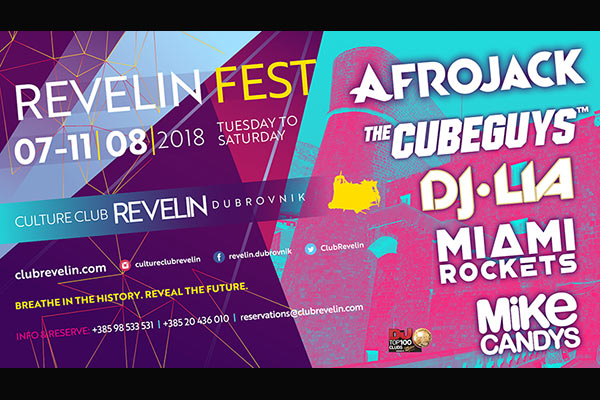 Afrojack Early Bird Tickets, Revelin Festival, August 8th, 2018