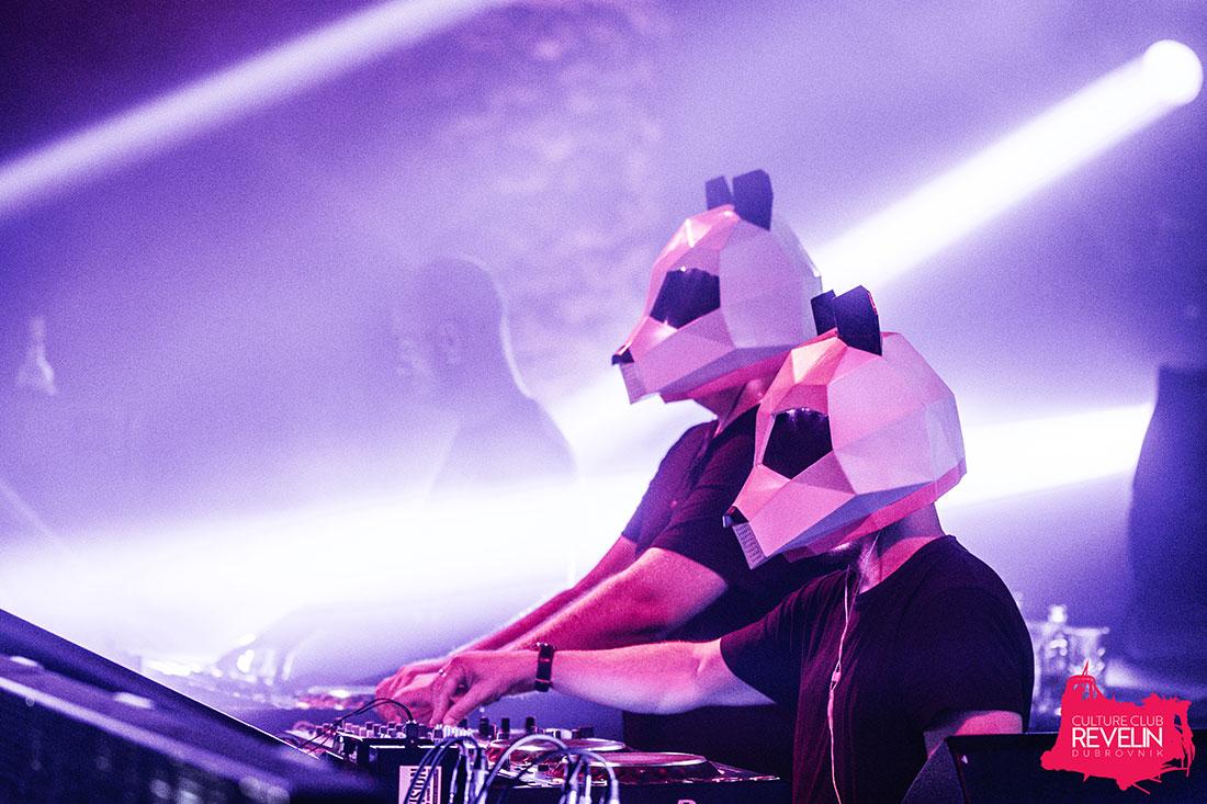 Pink Panda on Revelin stage, Dubrovnik 2018