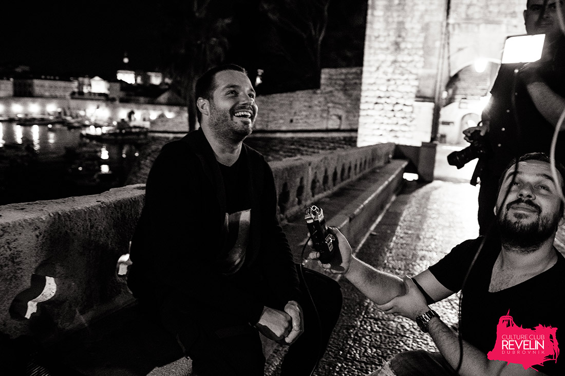 interview with Zonderling at Revelin terrace
