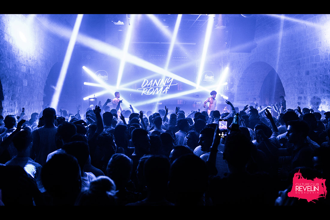 lightshow for Danny Roma in Revelin nightclub