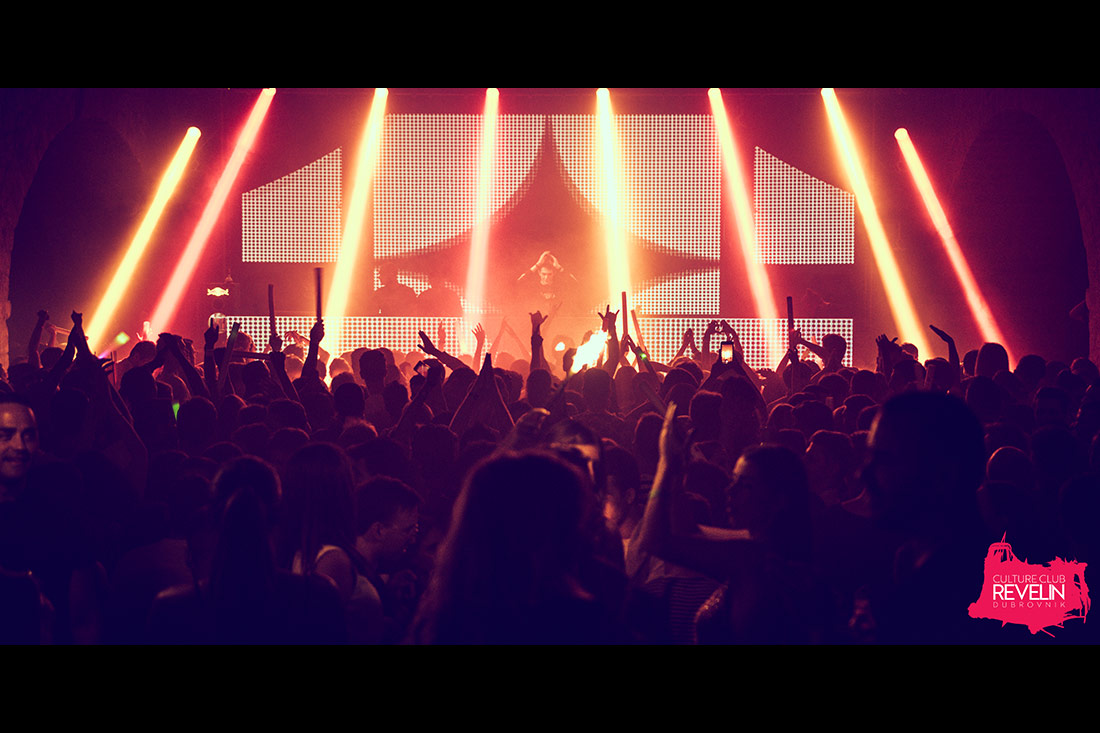 Lightshow for Kungs show