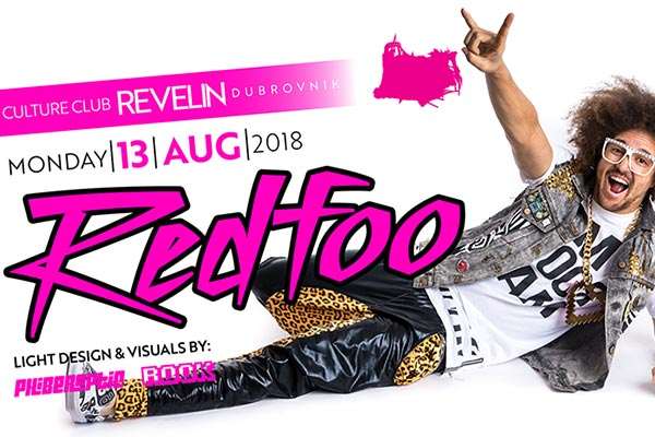 Redfoo at Revelin on August 13th 2018