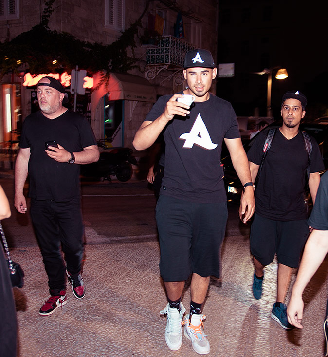 Welcome to Dubrovnik Afrojack