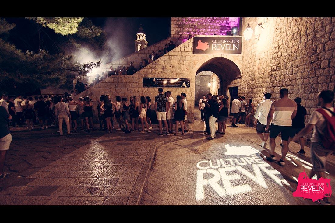 In front of Revelin nightclub for Revelin Festival