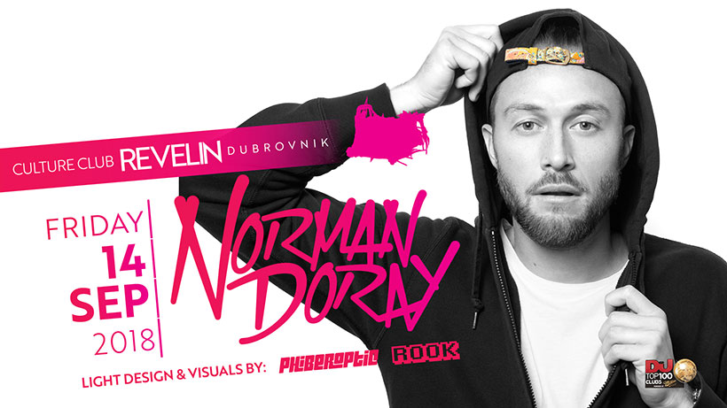 Don't miss Norman Doray on September 14th in nightclub Revelin