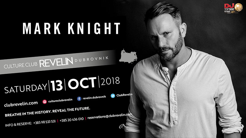13th of October is reserved for Mark Knight!