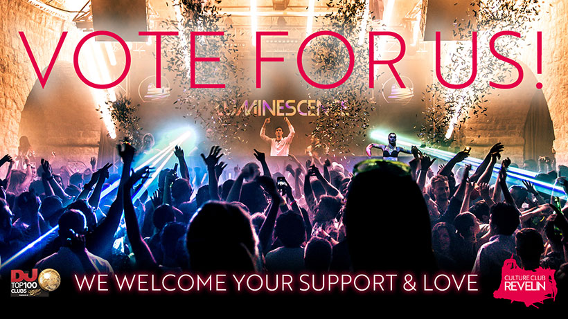DJ MAG Top 100 Clubs in the World, voting is open