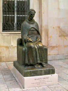 Marin Drzic statue, Dubrovnik
