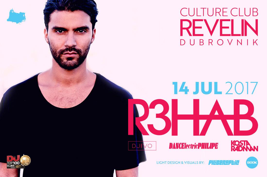 R3HAB, Culture Club Revelin, 2017