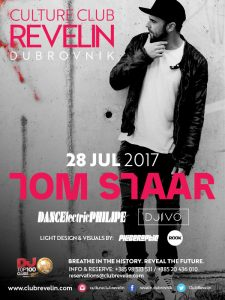 Revelin welcomes Tom Staar on July 28th, 2017