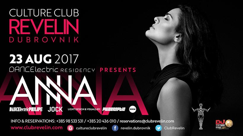 ANNA, NightClub Revelin, August 23rd, 2017