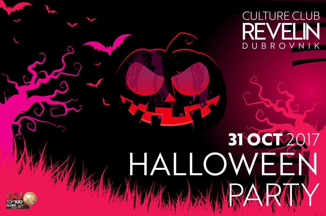 Halloween at Culture Club Revelin, Dubrovnik