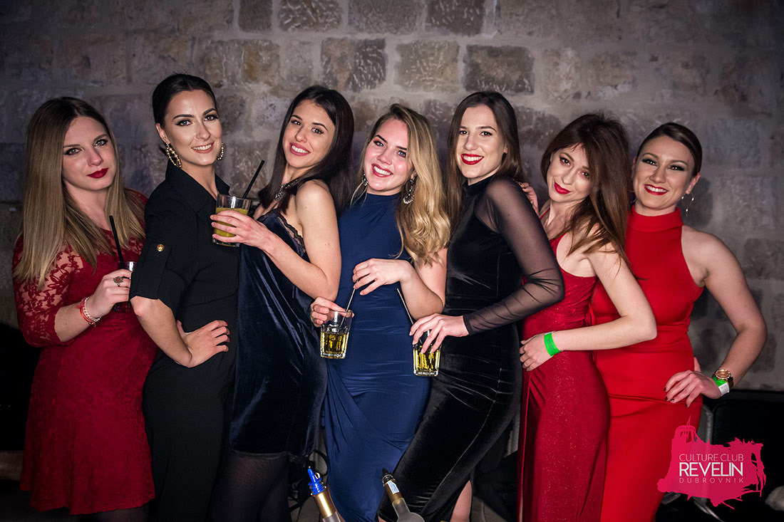 Prom UNIDU Party, klub Revelin Dubrovnik, 16.02.2018.