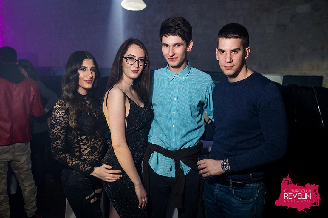 Prom UNIDU Party u klubu Revelin Dubrovnik, 16.02.2018.