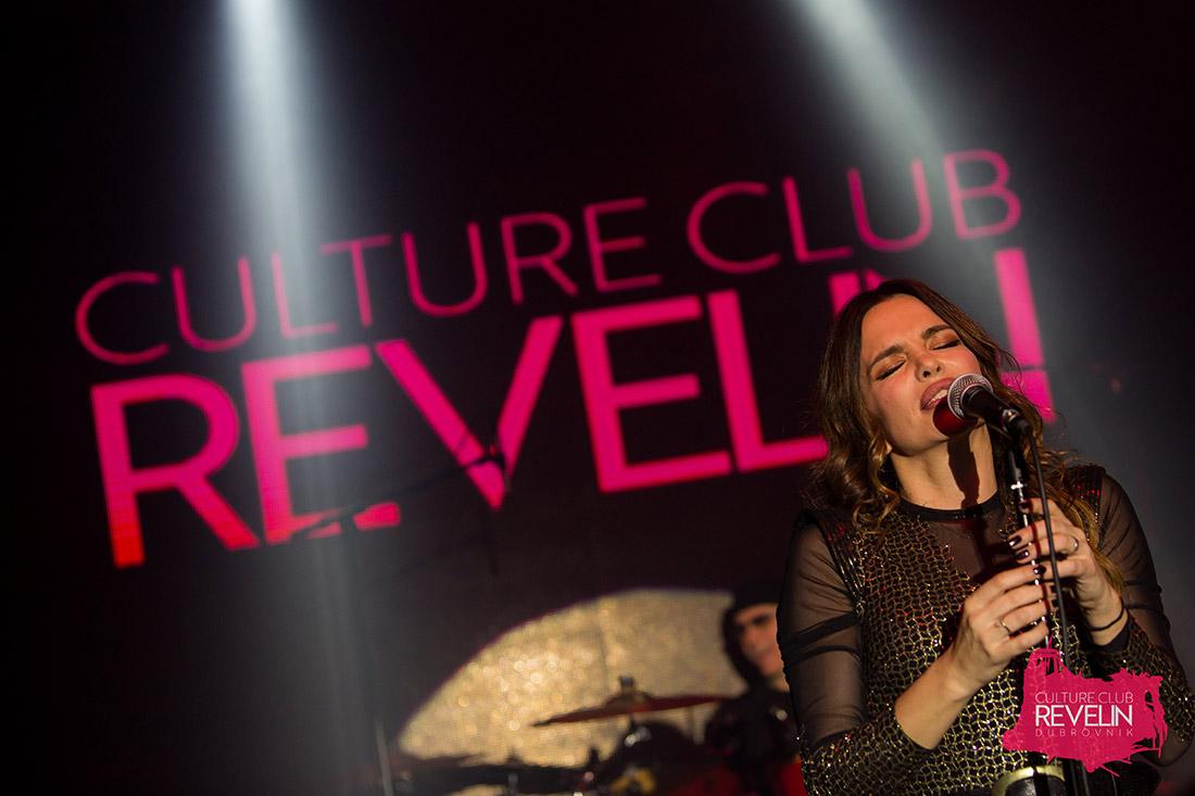 Severina na pozornici Revelina, Culture Club Revelin, Dubrovnik, 10. veljaće, 2018.