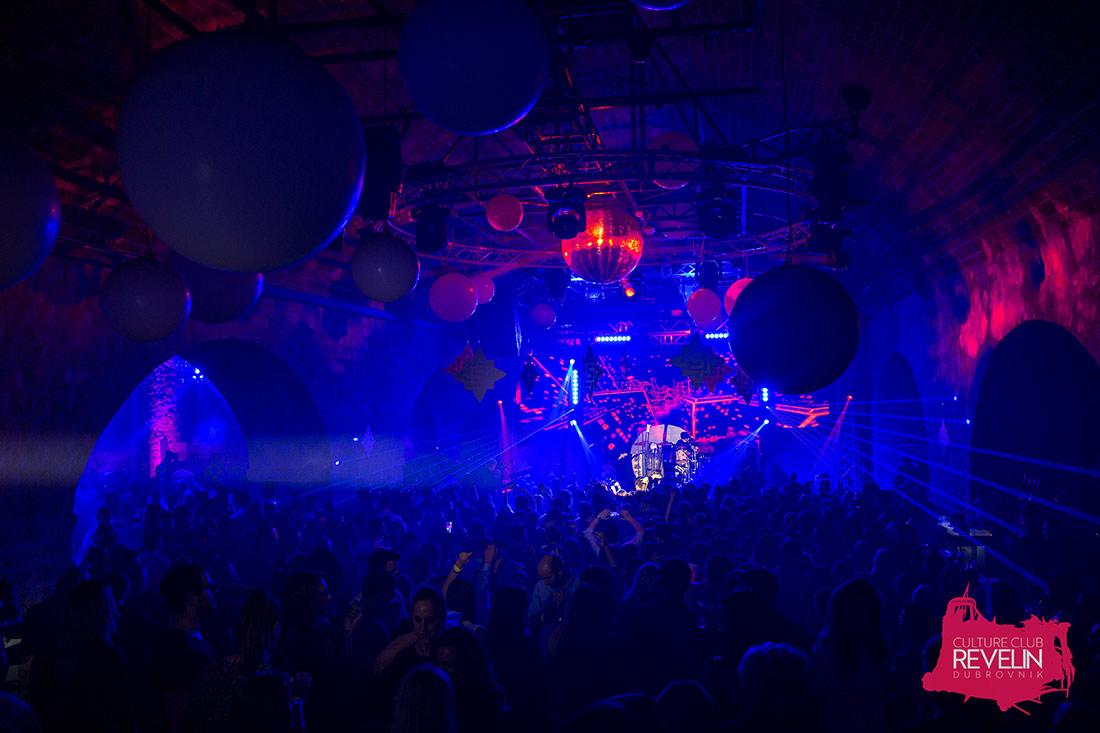 atmosfera na koncertu Severine u nocnom klubu Revelin, 10. Veljaca, 2018.