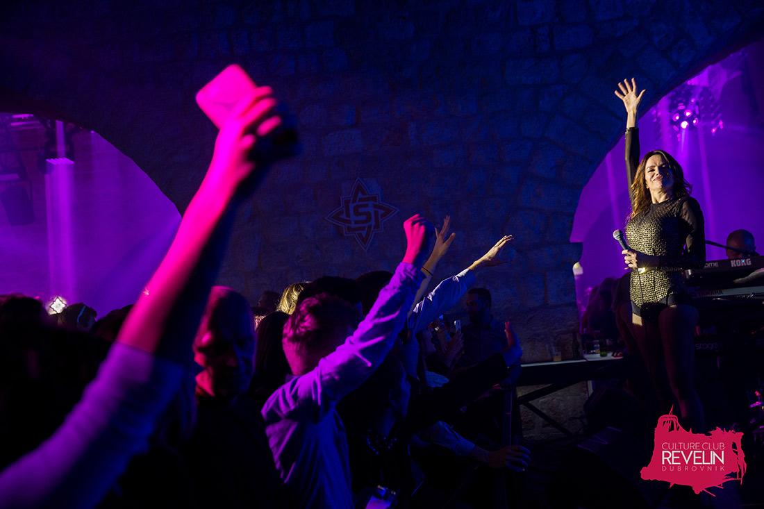 publika pjeva uz Severinu, Revelin 2018, Dubrovnik