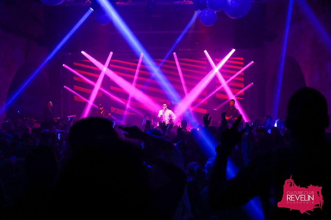 užarena atmosfera na koncertu Jole