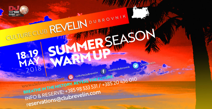 Summer season Warmup, 18 i 19. May, Revelin Dubrovnik