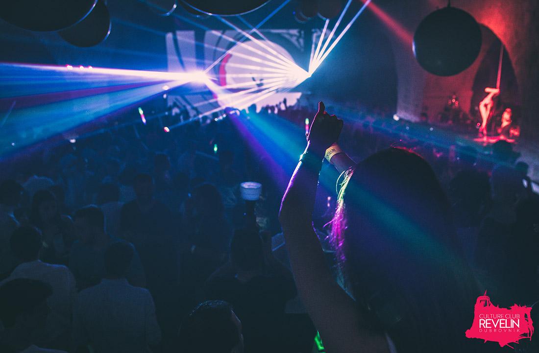 Enjoying the show, Arno Cost, June 8th, 2018. nightclub Revelin Dubrovnik