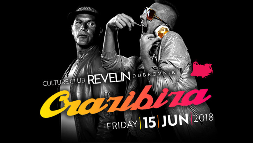 Don't miss Crazibiza in Revelin this Friday June 15th!